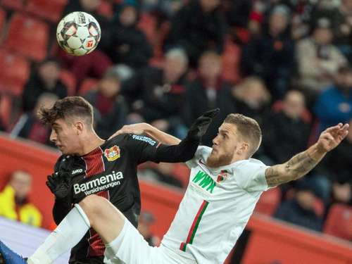 Augsburg will Heim-Party - Bayer kämpft um Champions League