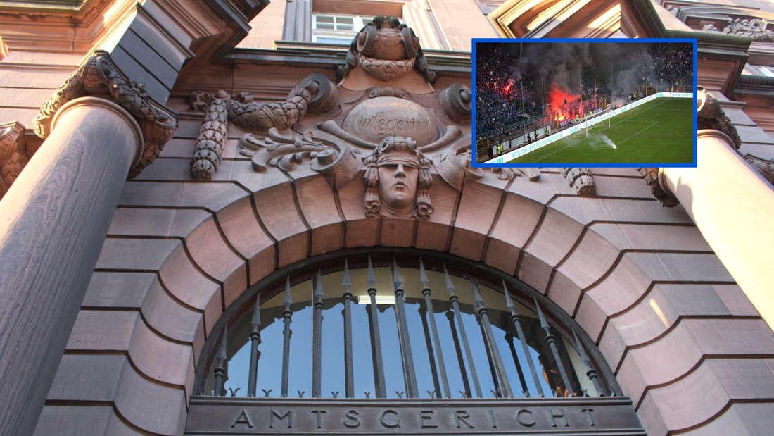 Am Amtsgericht Mannheim muss sich ein Anhänger des SV Waldhof Mannheim verantworten. (Archivfoto)