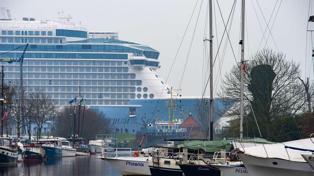 Parken am Kreuzfahrthafen - alle Kostenim Überblick finden Sie hier.