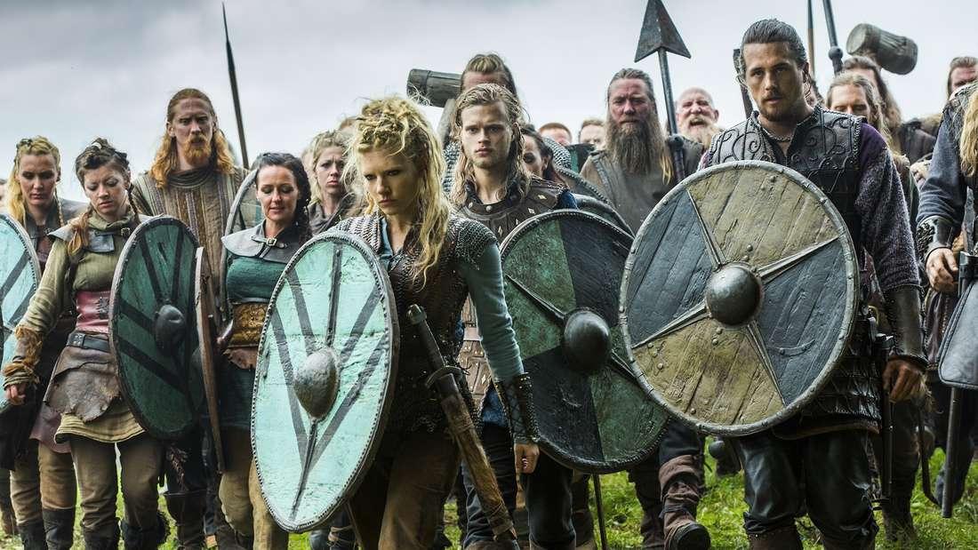 """Die Starz-Serie """"Vikings"""" wird oft mit """"Game of Thrones"""" verglichen."""