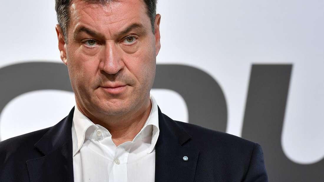 Bayerns Ministerpräsident Markus Söder beharrt weiterhin auf dem Koalitionsvertrag.