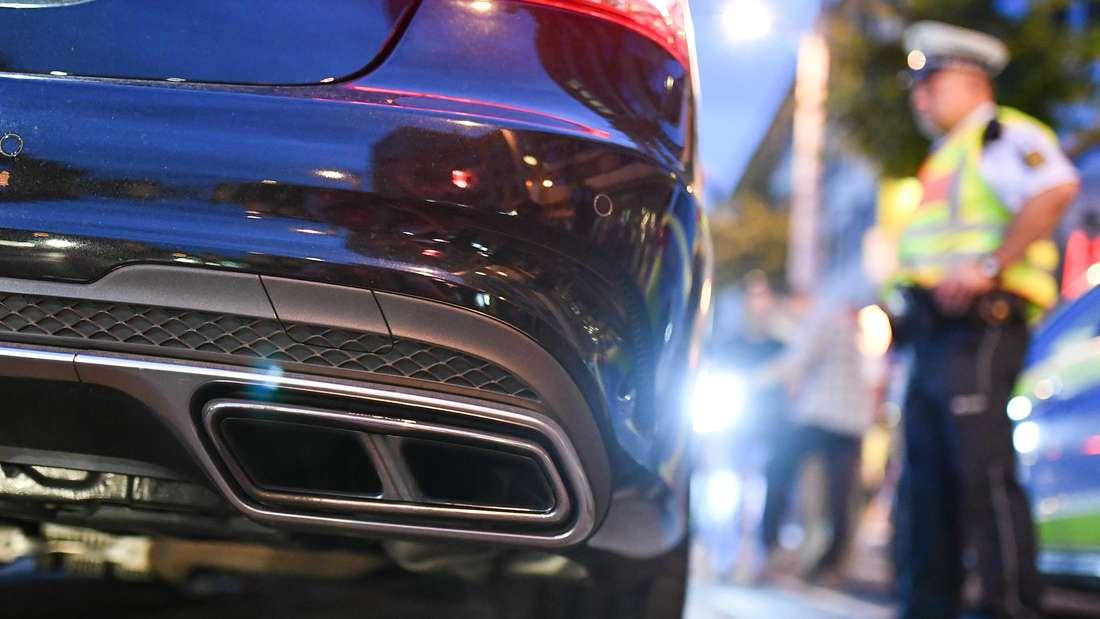 Ein Ludwigshafener darf aus Mannheim verbannt werden, wenn er mit seinem Auto protzt (Symbolfoto)
