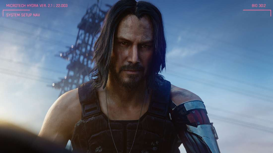 """Keanu Reeves wird wohl eine Rolle im neuen CD-Projekt-Red-Titel """"Cyberpunk 2077"""" spielen."""