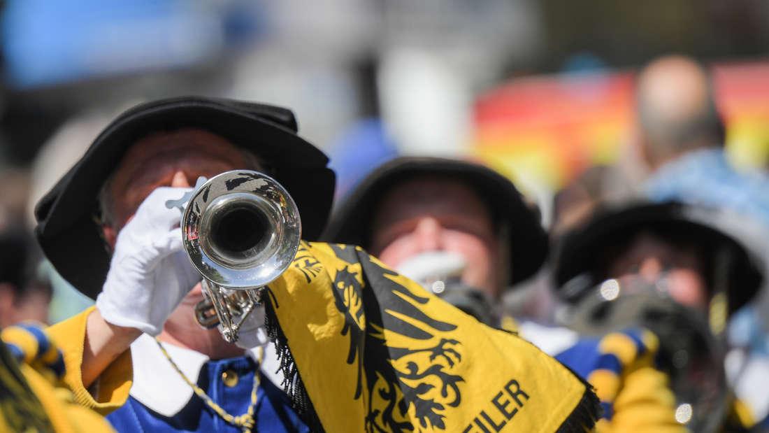 Festzug auf dem Rheinland-Pfalz-Tag
