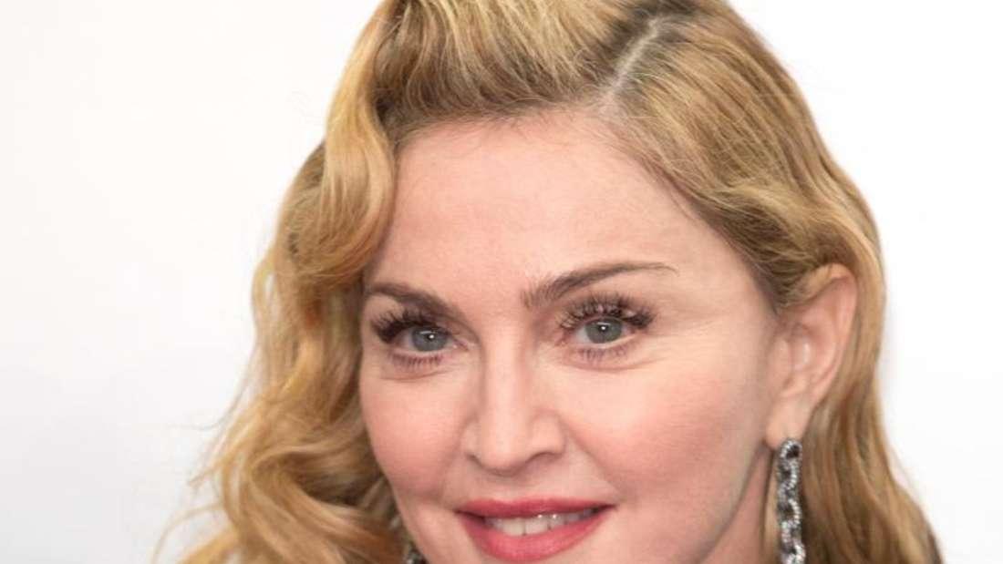 Popsängerin Madonna 2013 in Berlin. Foto: Jörg Carstensen