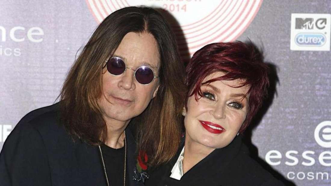 Ozzy Osbourne und seine Frau Sharon sind keine Freunde von Donald Trump. Foto: Danny Lawson/Press Association/EPA