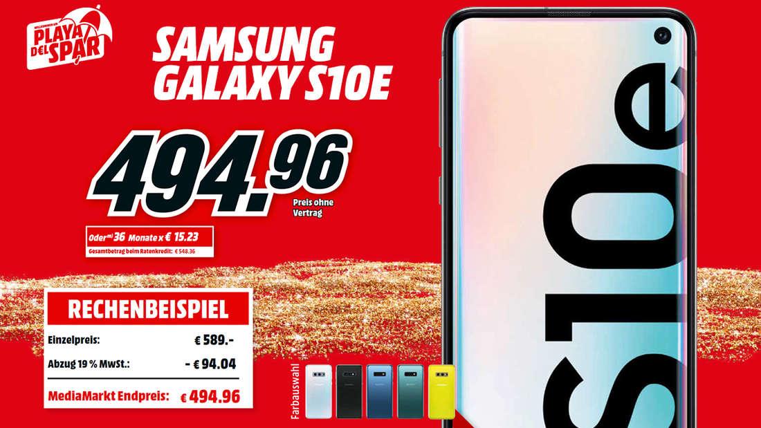 Beim SAMSUNG Galaxy S10e hast Du, dank 5,8 Zoll Bildschirm, immer den Durchblick.