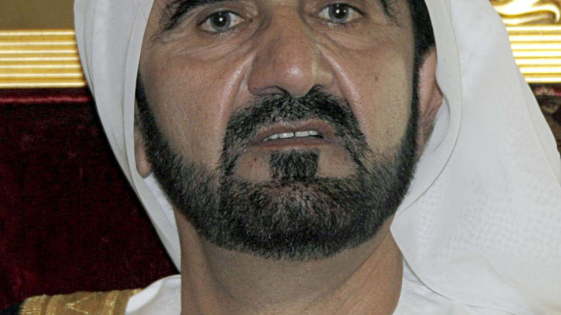 Dubais Herrscher twittert Geburt seines Jüngsten