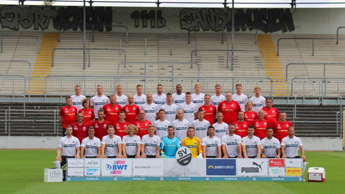 Der Kader des SV Sandhausen.