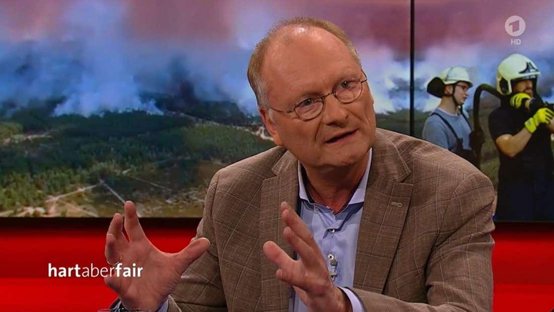 """ARD-Wetterexperte Plöger bei""""Hart aber fair"""""""