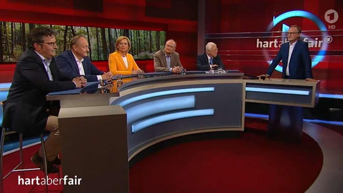 """""""Hart aber fair"""" in der ARD: Klimaschutz in Deutschland"""