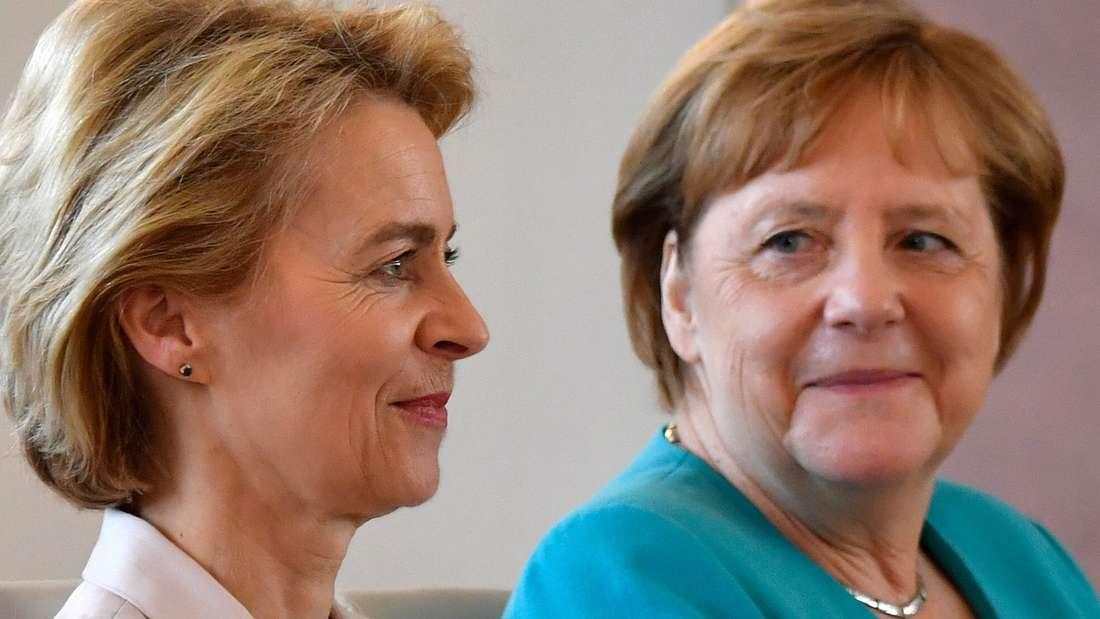 Neue EU-Chefin: Ursula von der Leyen.