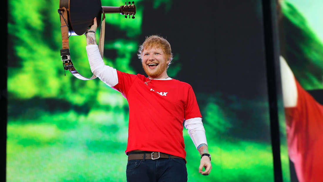 Ed Sheeran Konzert am Hockenheimring.