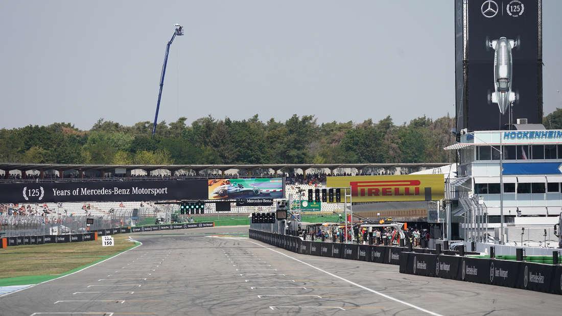 Die Formel 1 gastiert vom 26. bis 28. Juli am Hockenheimring.