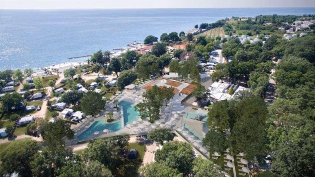 Campinganlage Aminess Maravea Camping Resort.