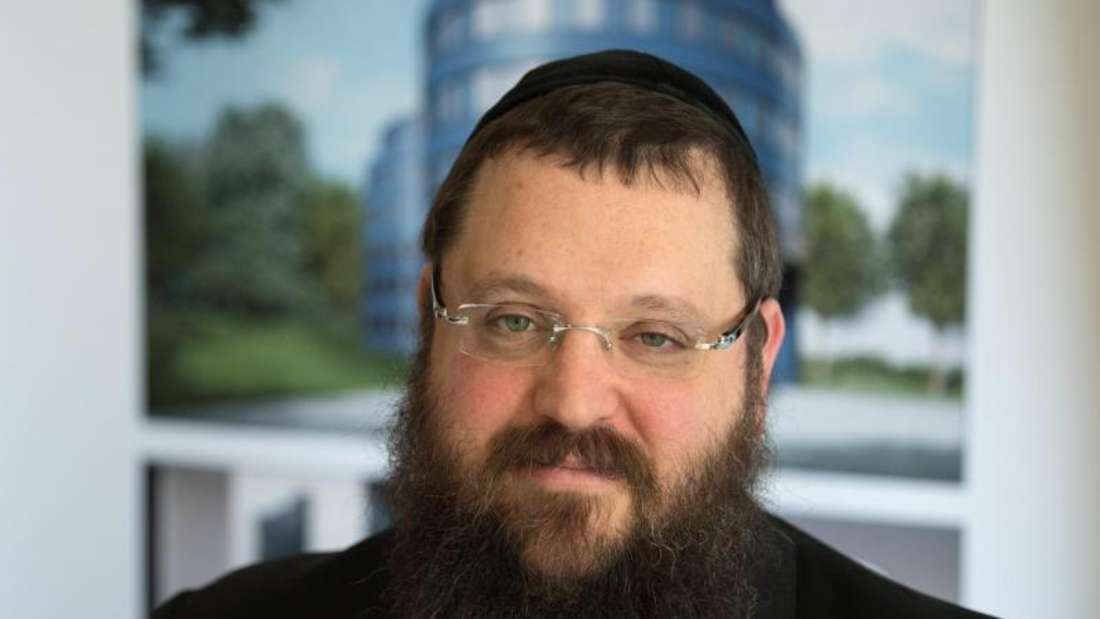 Rabbiner Yehuda Teichtal wurde von zwei Männern auf Arabisch beschimpft und bespuckt. Foto: Soeren Stache