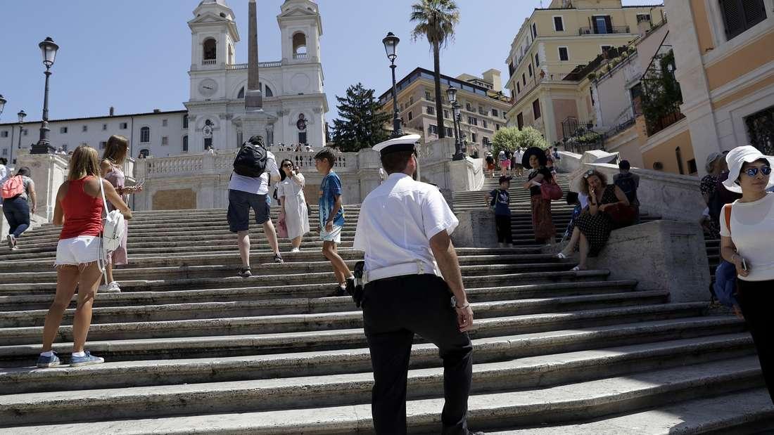 Verschärfter Denkmalschutz in Rom.