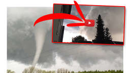 Unwetter Hessen: Tornado mit Handy-Cam gefilmt! Krasses Amateur-Video