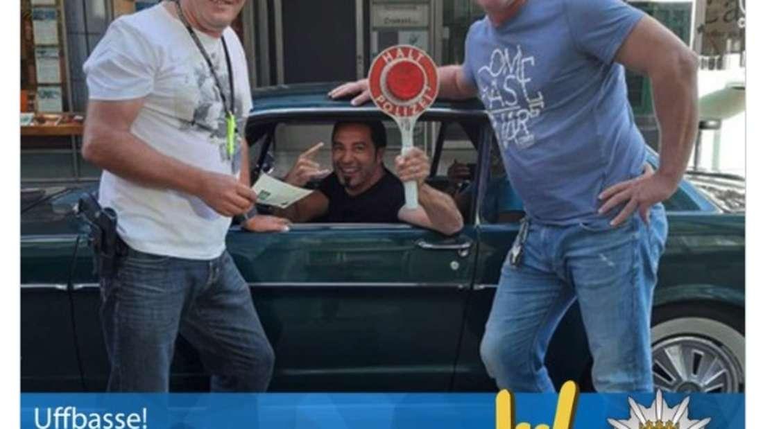 Der Comedian Bülent Ceylan wird von der Polizei kontrolliert– und reagiert mit Humor.