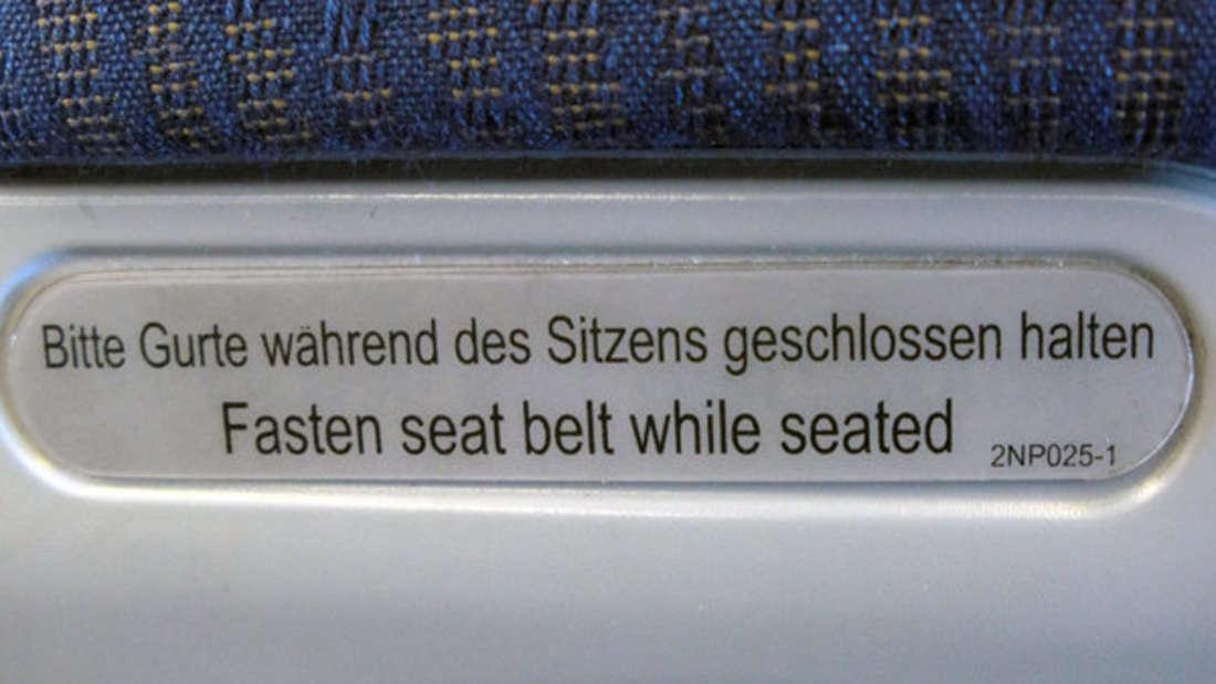 Turbulenzen im Flugzeug sind nicht ungewöhnlich.