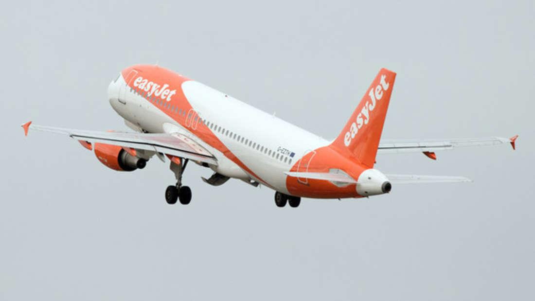 Bei EasyJet wurde ein Passagier kurzerhand zum Piloten.