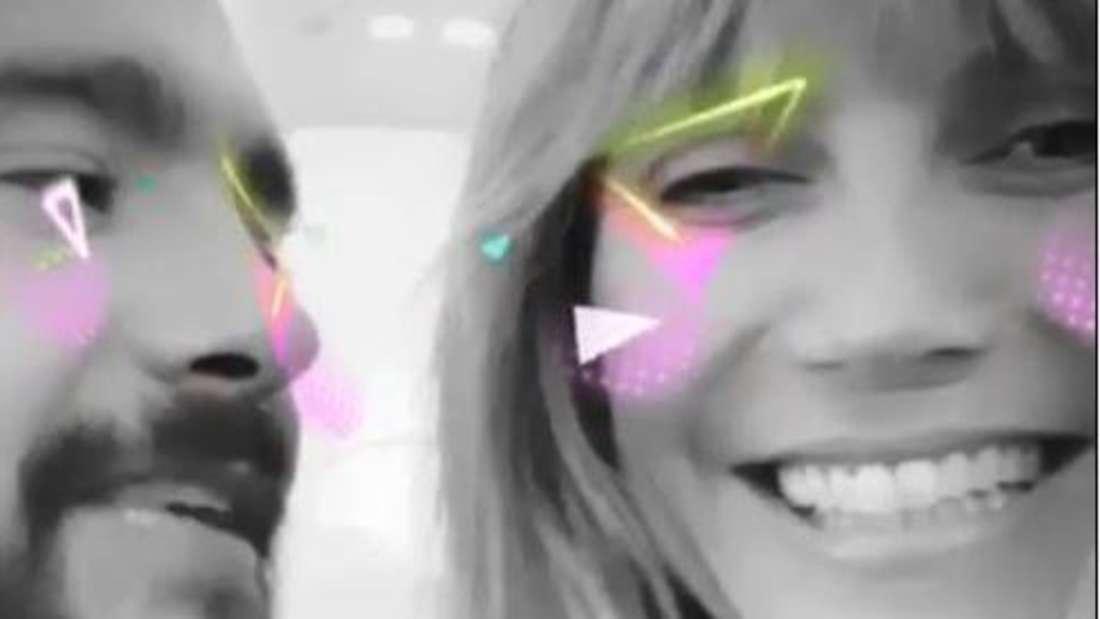 Haben Spaß als Ehepaar und in München: Tom Kaulitz und Heidi Klum.