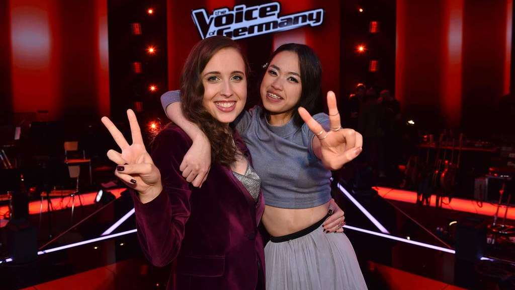 """The Voice of Germany""-Siegerinnen 2019: Claudia und ihr Coach Alice Merton."
