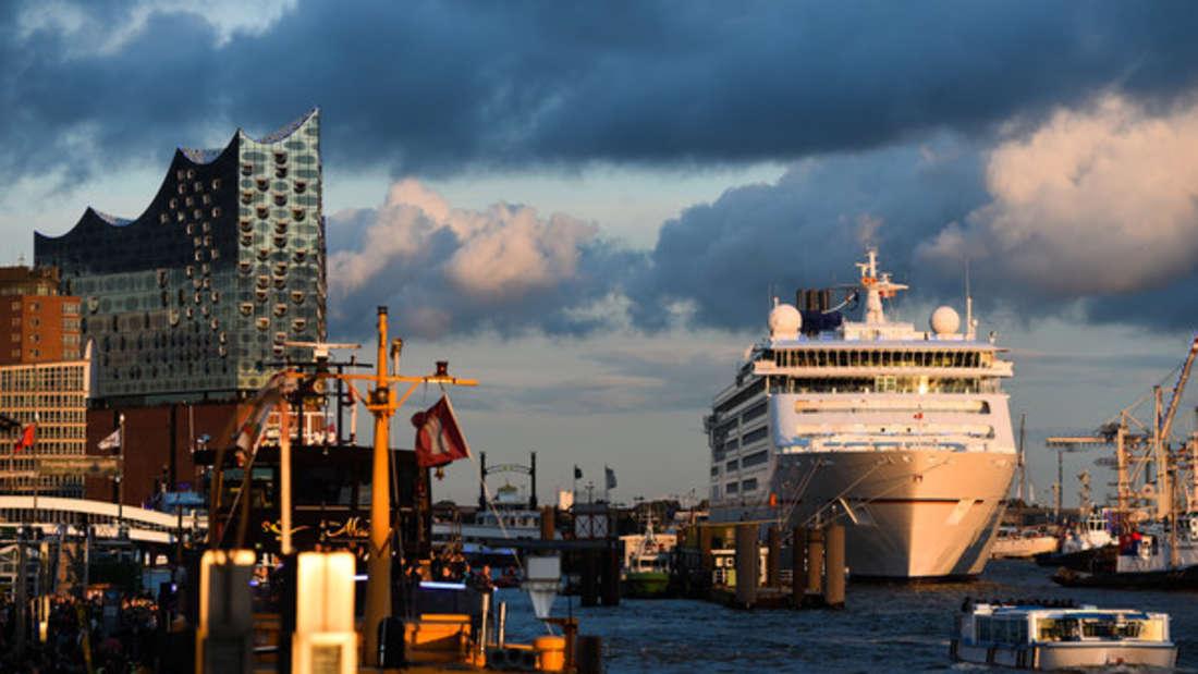 Hamburger HafenCity.