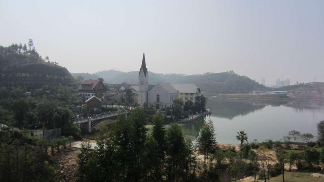 China: Österreichische Alpenidylle in Asien