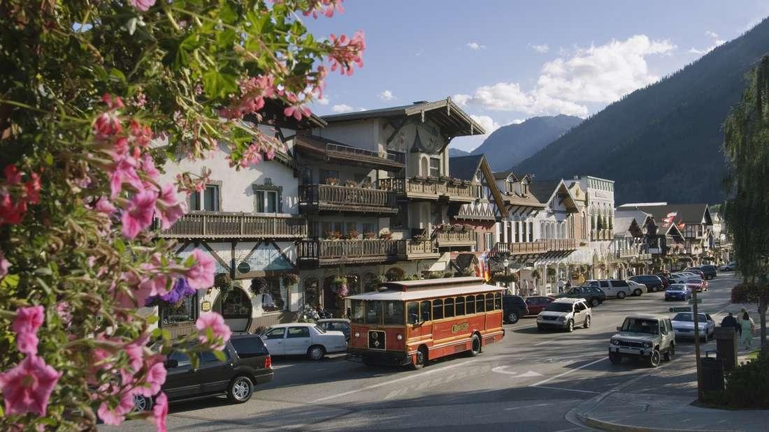 USA: Ein bayerisches Dorf in Washington.
