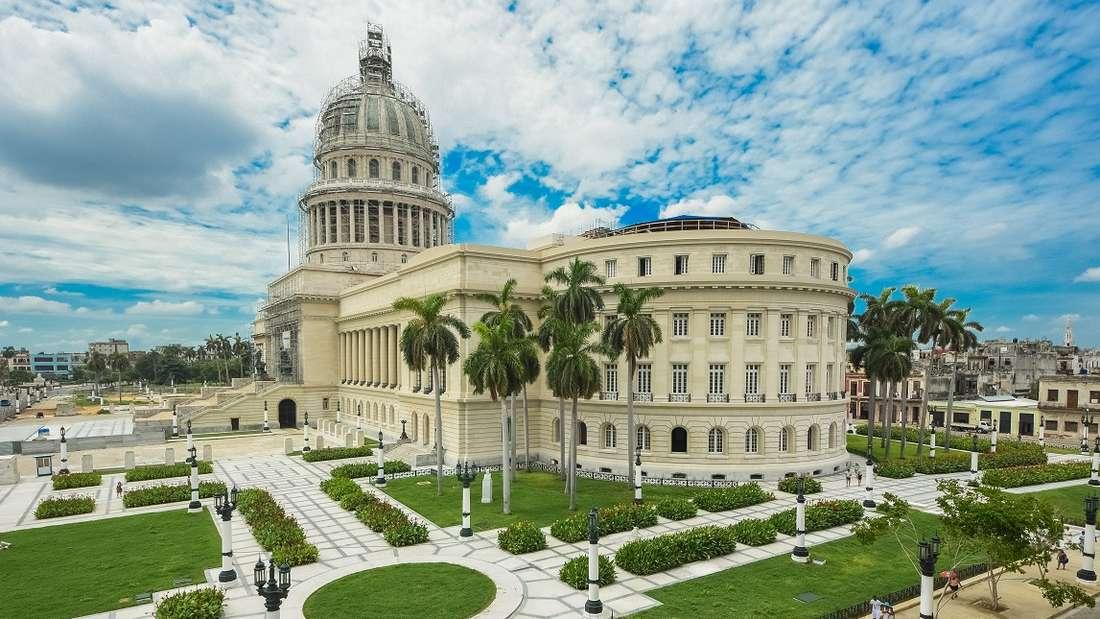 Kuba: Das Kapitol in Havanna.