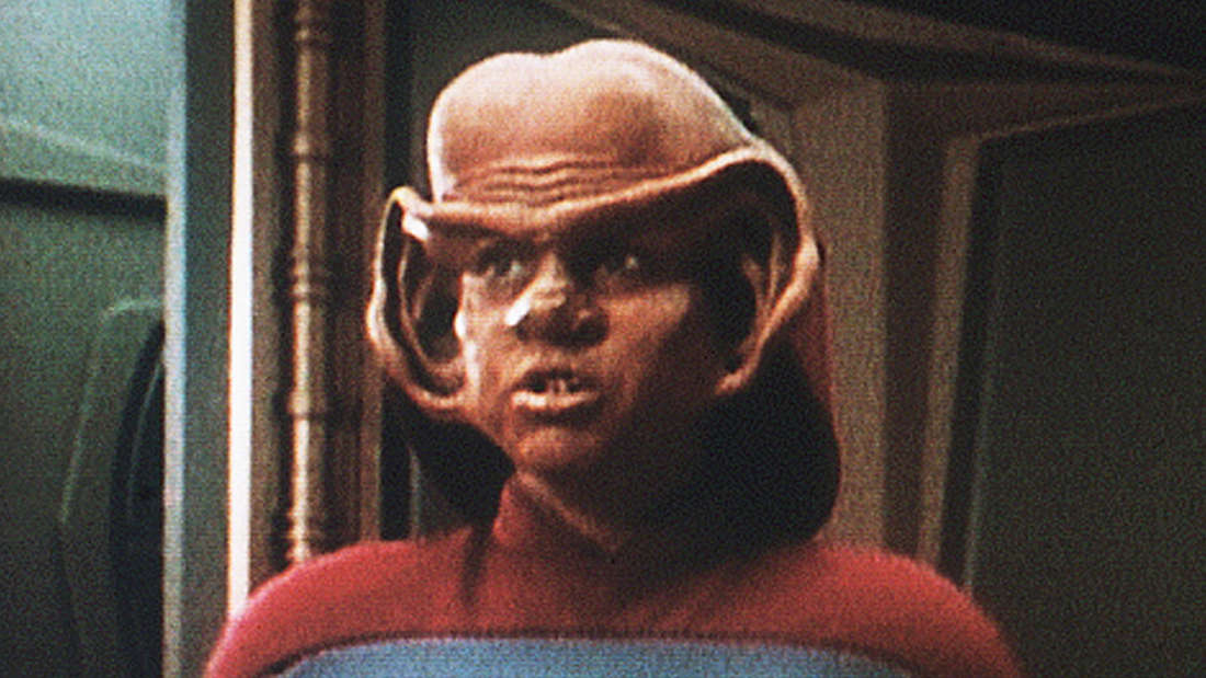 """""""Star-Trek""""-StarAron Eisenberg ist überraschend gestorben. Der Darsteller von Nog aus""""Deep Space Nine"""" wurde nur 50 Jahre alt."""
