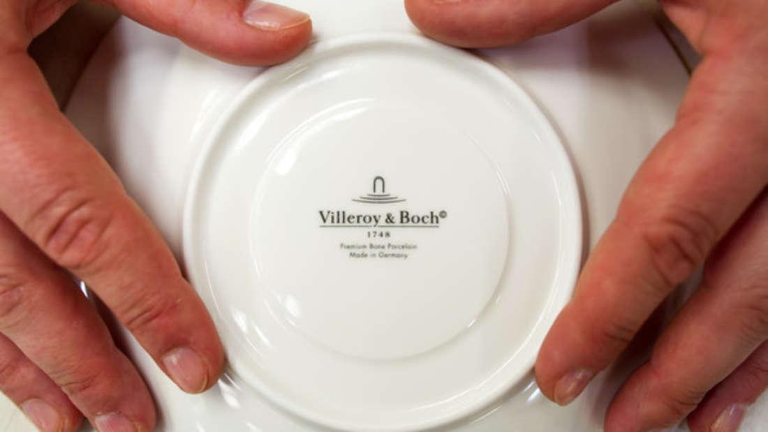 Villeroy & Boch ist zwar eine hochwertige Porzellan-Manufaktur, doch können sechs Teller hunderttausende Euro wert sein?