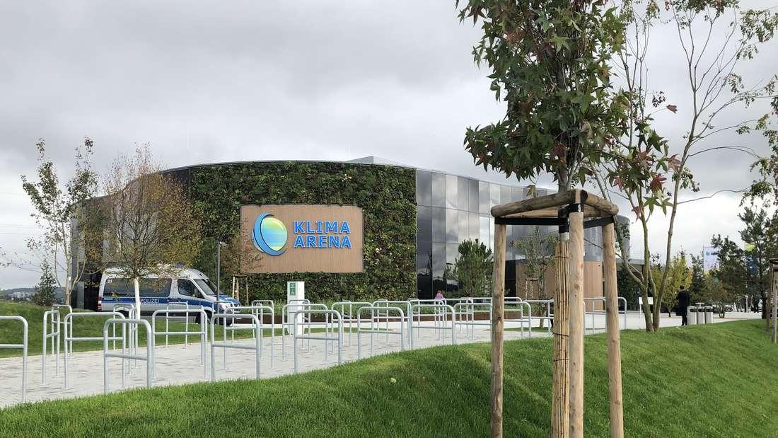Die Klima-Arena in Sinsheim.