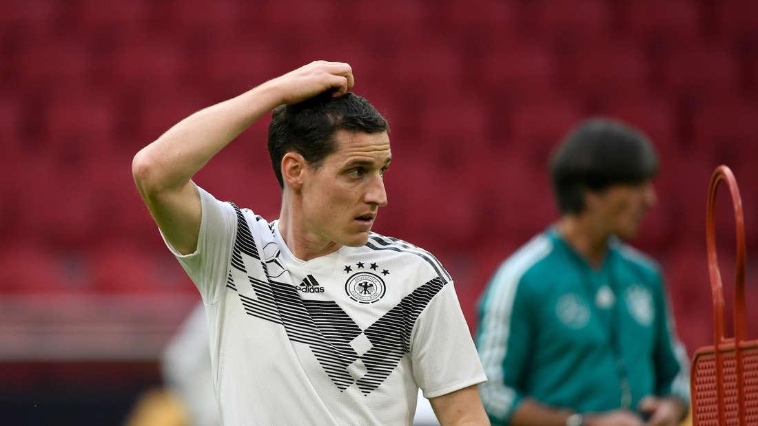 Sebastian Rudy steht im DFB-Aufgebot für das Länderspiel gegen Argentinien.