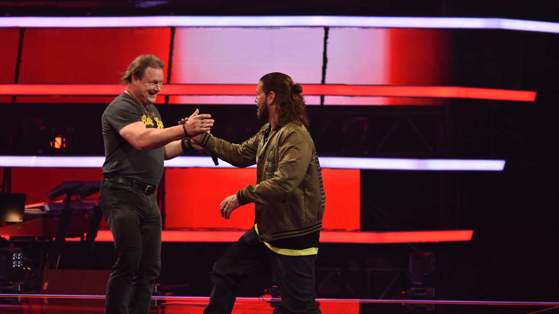 """Christian rockt die Blind Auditions mit """"Killing In The Name"""" von Rage Against The Maschine."""