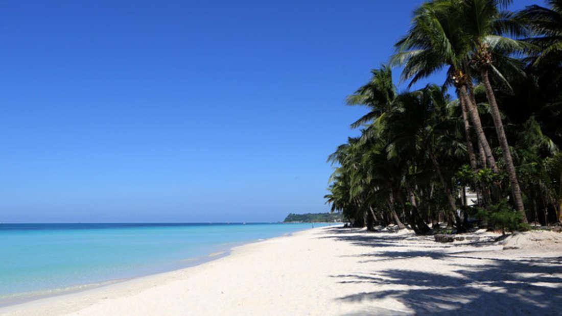Zu knapp sollte der Bikini auf der Insel Boracay scheinbar nicht ausfallen. (Symbolbild)