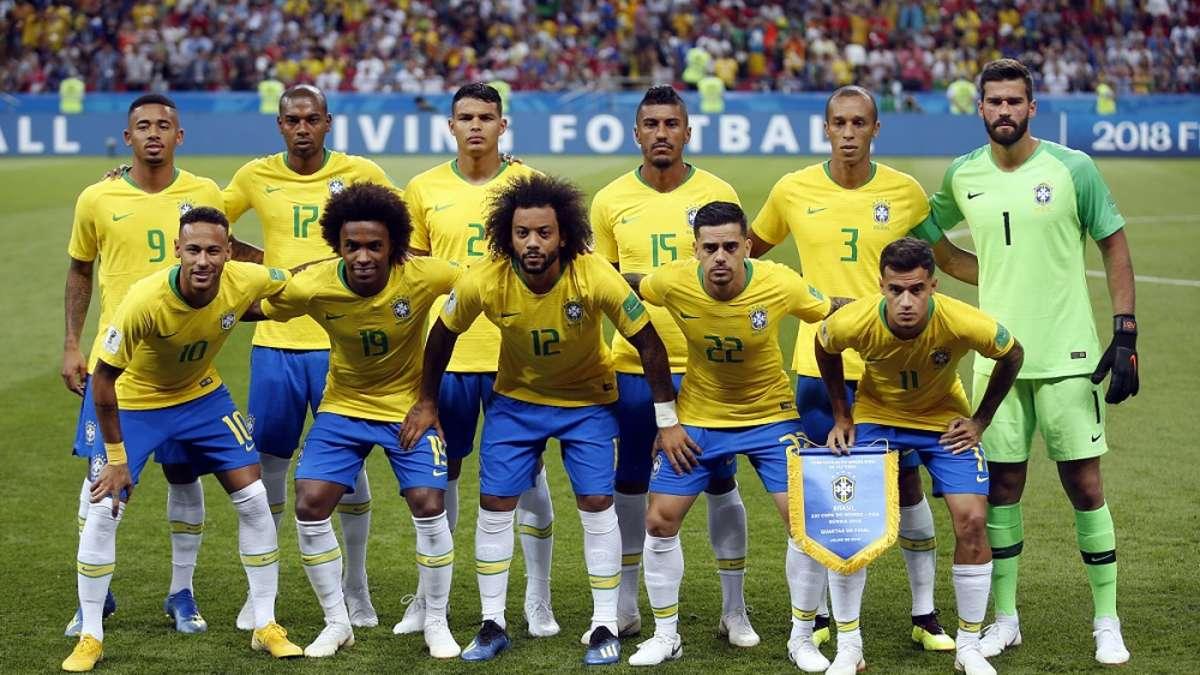 Brasilien Fussballer