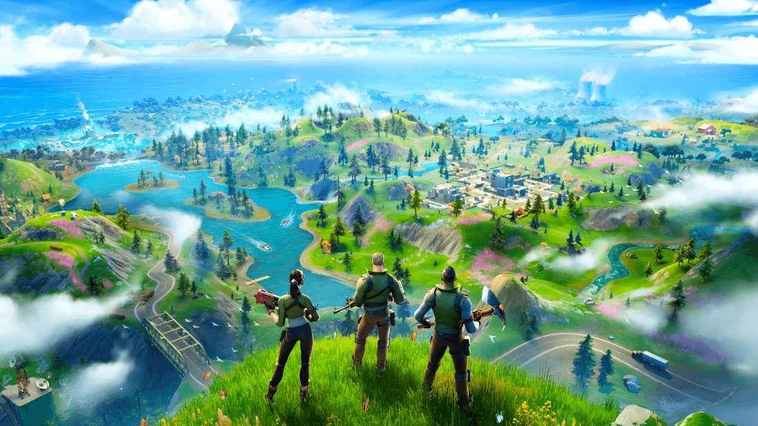"""Die neue Insel von """"Fortnite"""" beherbergt gefährliche Orte."""