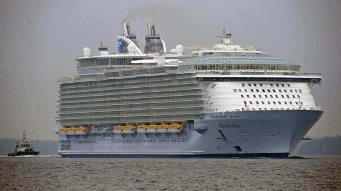 """Unglaublicher Vorfall an Bord der """"Allure of the Seas"""" - eine Person bekam lebenslanges Reiseverbot."""