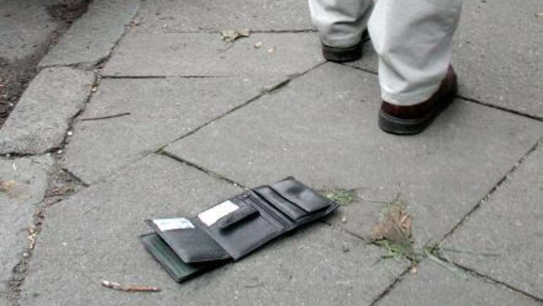 Ein Mann hatte seine Geldbörse verloren - und erlebte eine schöne Überraschung.
