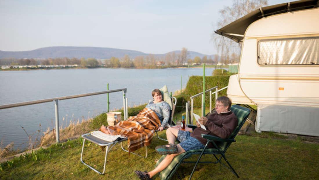 Camping ist in Deutschland eine beliebte Art Urlaub zu machen.