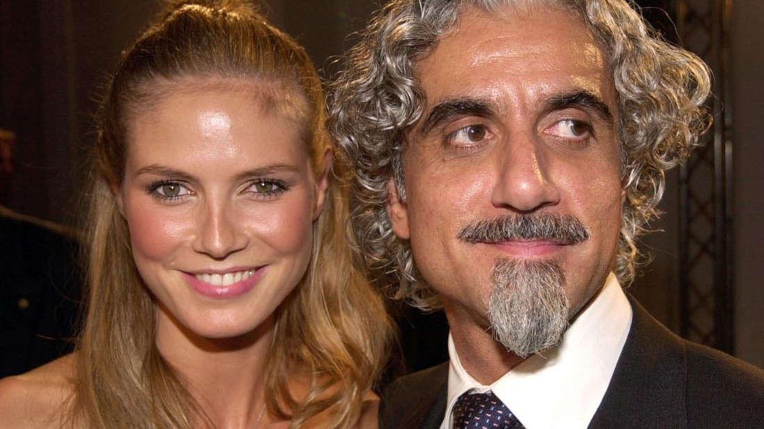 Im Jahr 1997 heiratete Heidi Klum zum ersten Mal: Starfriseur Ric Pipino war ihr Auserwählter. (Archivbild von 2001)