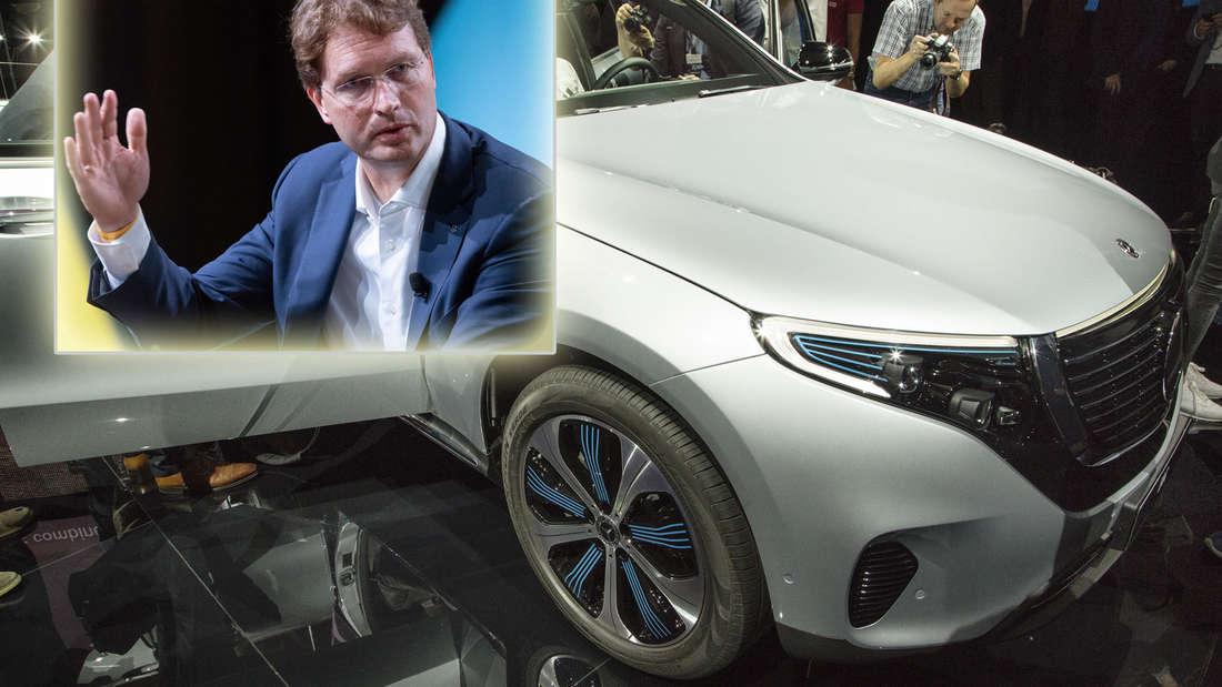Der Mercedes-Benz EQC wird in Bremen gebaut und ist von einem Rückruf betroffen.