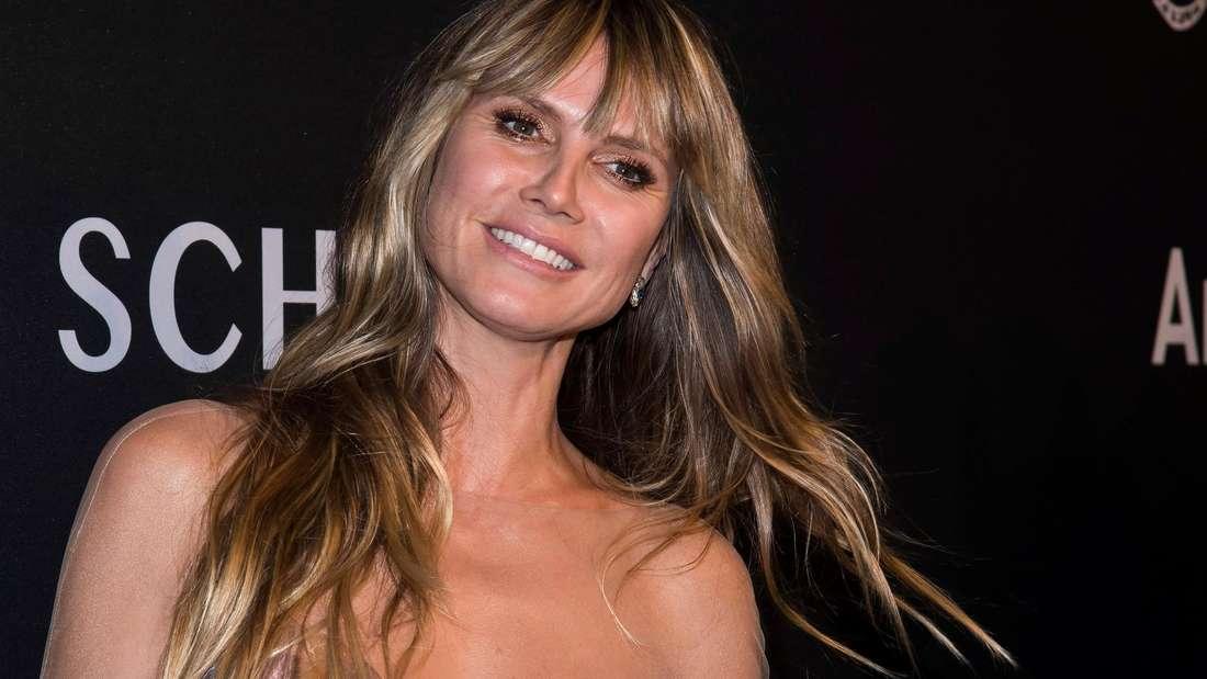 Heidi Klum präsentierte sich in einem eleganten Hauch von Nichts auf dem «Angel Ball».