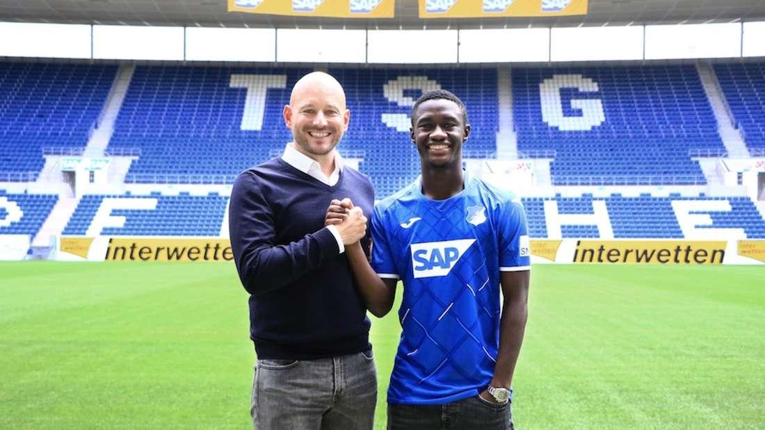 Rekord-Einkauf Diadie Samassekou (r.) möchte bei der TSG Hoffenheim wieder voll angreifen.