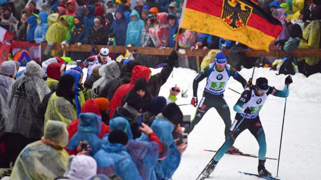 Biathlon: Beim Weltcup in Oberhof herrscht Jahr für Jahr großer Zuschauerandrang und viel Stimmung.