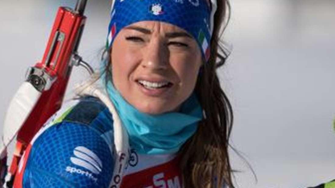 Biathlon: Dorothea Wierer aus Italien gewann in der Vorsaison den Gesamtweltcup der Damen.