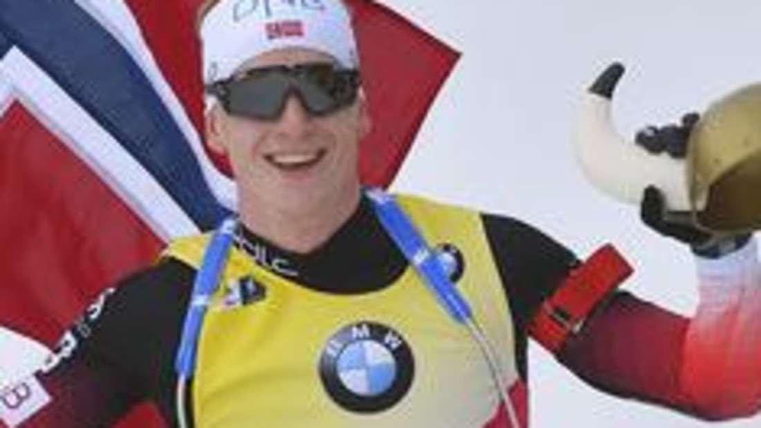 Biathlon: Johannes Thingnes Boe aus Norwegen dominierte den Biathlon in der Saison 2018/19.