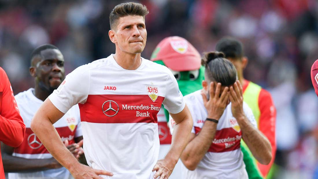 Mario Gomez erzielt gegen den SV Sandhausen drei Abseitstore (Archivfoto).